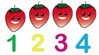 Counting Fruit Kids Song And Lesson | Children's Education | Dream English