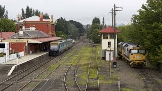 Moss Vale Australia  city images : Australian Trains - Moss Vale Railway Station February 2015
