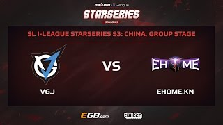VG.J vs EHOME.Keen, Game 2, SL i-League StarSeries Season 3, China