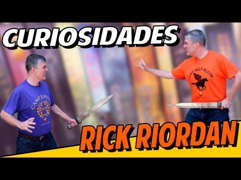Livro Aberto | 12 Curiosidades sobre Rick Riordam
