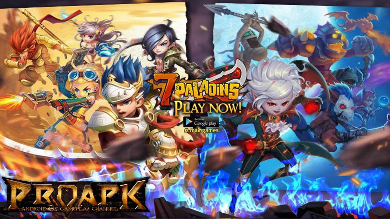 7 Paladins : 3D RPG MOBA