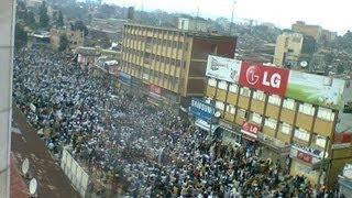 Ethiopian Muslims Protest July 19, 2013 - Video3
