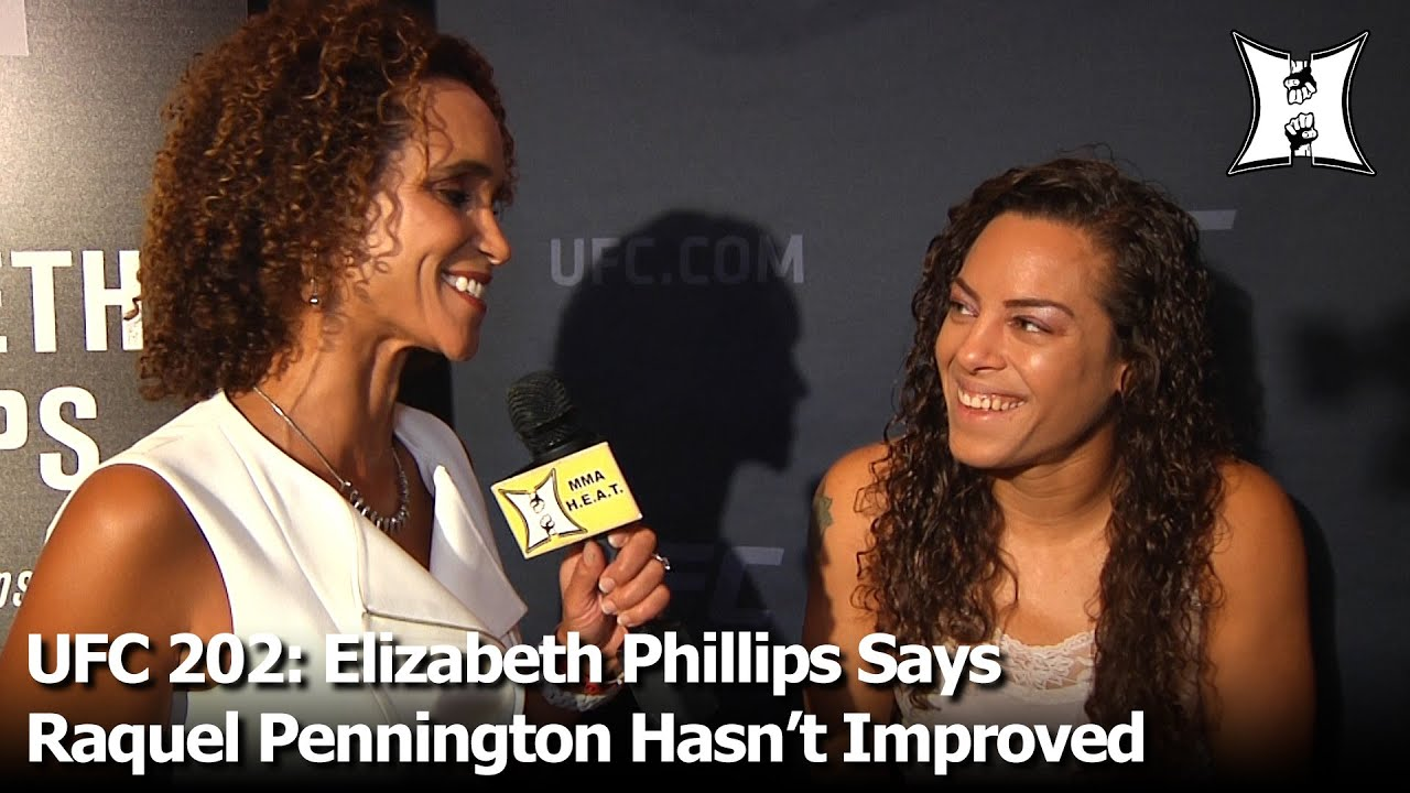 UFC 202: Elizabeth Phillips Says Pennington Hasn't Improved; Talks Underdog Status + Hair Struggles