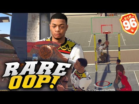 Rare Alley-oop! 96 Overall Pure Slasher Getting Exposed! Nba 2k19 Park Gameplay