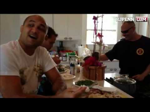 Catching up with BJ Penn 10/16/12