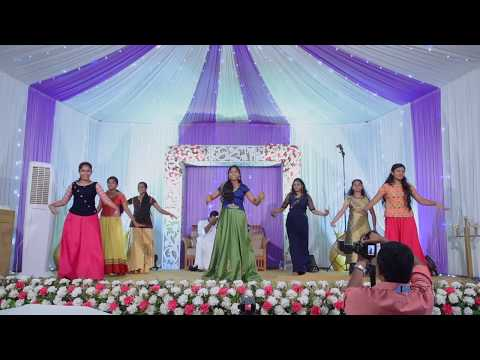 Engagement Day Dance Performance By Sisters/ Kerala Betrothal / Meenu & Shojo 2K18