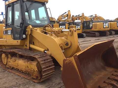 CATERPILLAR CARGADORES DE CADENAS 953C equipment video LHdS5H-WVdM