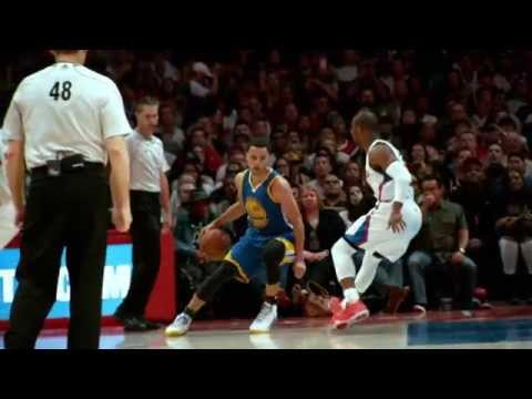 Video: Steph Curry Dribbles Chris Paul into the Floor in Super Slow-Mo