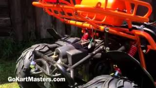 4. TrailMaster 150 XRS Go-Kart - Preview