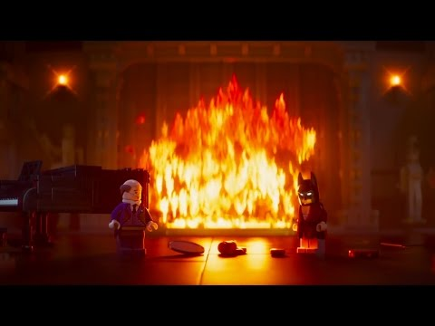 The LEGO Batman Movie Wayne Manor Teaser Trailer