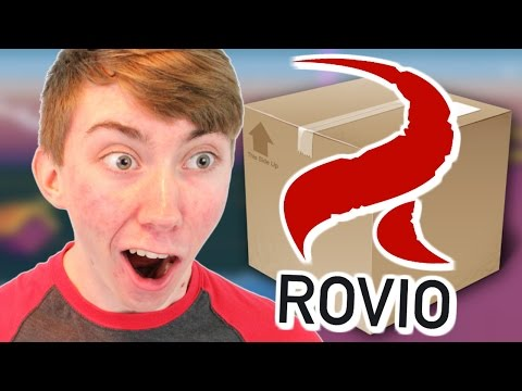 rovio - Opening a mystery package that Rovio (creators of Angry Birds) sent! It was a neat