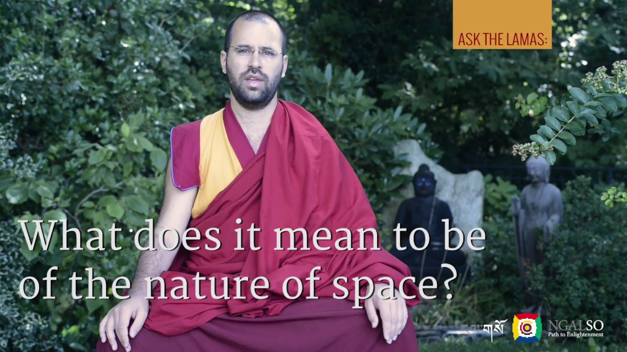 What does it mean to be of the nature of space?