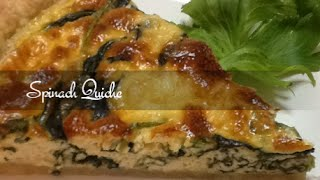 A flaky crust filled with fresh spinach ,a scrumptious custard and bubbly Gouda cheese whose buttery flavor is a perfect for this dish.This spinach quiche recipe is easy to make and can be served for breakfast, brunch ,lunch or even a light dinner. The recipe can be used to make mini quiches which are great hors d'oeuvres, simply by using muffin tins rather than a tart shell.Link to the pie crust recipe : https://www.youtube.com/watch?v=fljYheyhSBoAll recipes are also posted on my blog, you can visit by clicking on the link below.http://supersimplekitchen.blogspot.gr/Get my free App for your mobile phone,tablet or Ipad and have all my latest recipes right at your fingertips! To get the app just click on the link below.http://supersimplekitchen.blogspot.gr/2013/05/get-app.htmlFaceBook  http://www.facebook.com/pages/Supersimplekitchen/135564486635896Twitter   https://twitter.com/supersimplekitcInstagram http://instagram.com/supersimplekitchenPinterest http://pinterest.com/supersimplekitc/