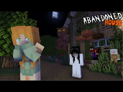 SADAKO AND GHOST FRIENDS BECAME ALEX'S FRIEND IN MONSTER SCHOOL - MINECRAFT ANIMATION