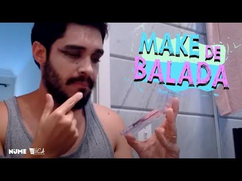 Maquiagem - Tutorial Make de Balada