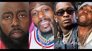 Young Thug Sauce Walka Beef Gets Trae The Truth Involved, Sauce Takes Credit Trae Day Incident 09