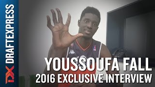 Youssoufa Fall Exclusive DrafExpress Interview