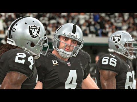 Madden 19 Oakland Raiders vs Detroit Lions - NFL Friday Night Football 8/10 (Madden NFL 19 Gameplay)