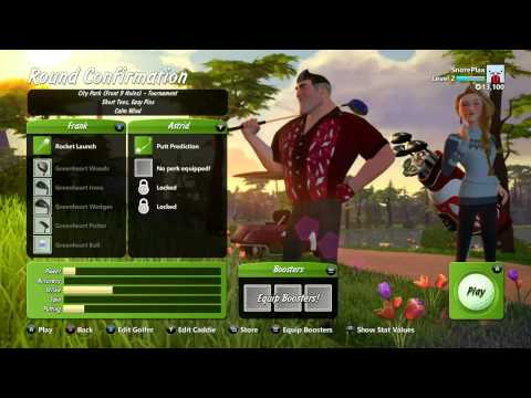 Golf-G Strokes Starts His Golfing Career!-PowerStar Golf Xbox One
