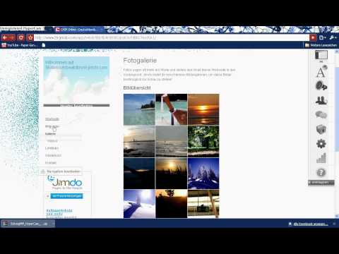 Jimdo Homepage erstellen