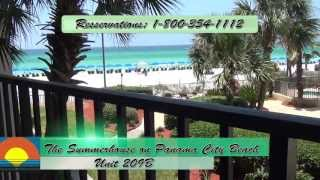 Unit 209-B Summerhouse Panama City Beach Vacation Condo