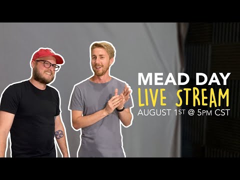 MEAD DAY LIVE: Join us with Man Made Mead to celebrate the world's best beverage