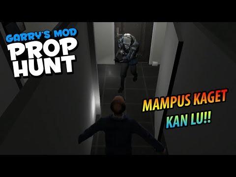 Garrys Mod - PRANK GW KAGETIN BERHASIL LAGI!! - Garry's Mod Prop Hunt Indonesia Funny Moments