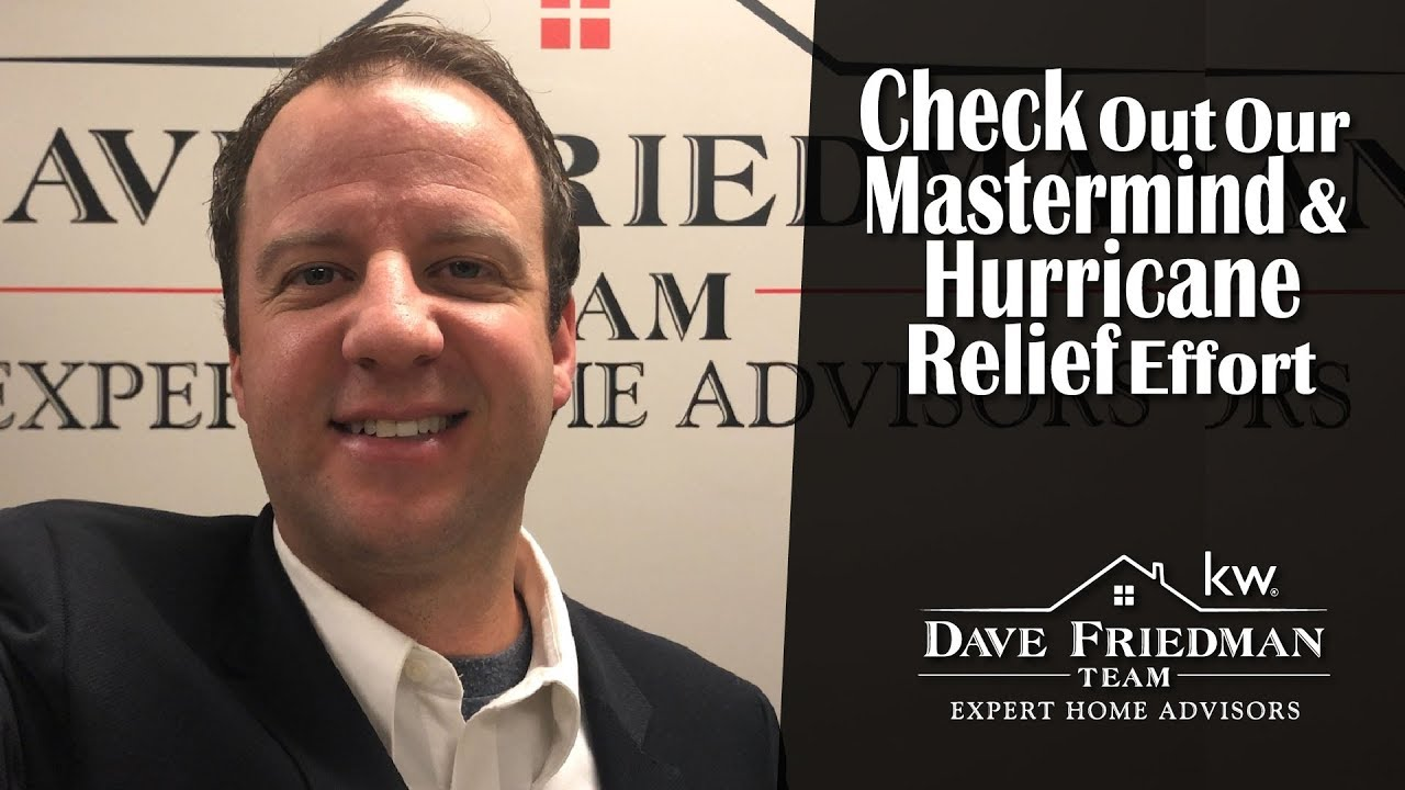 We're Hosting a Mastermind and Helping With Hurricane Relief