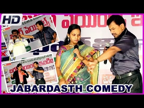 Hilarious Jabardasth Comedy Show 9th May - Guntur Humour Club (HD)