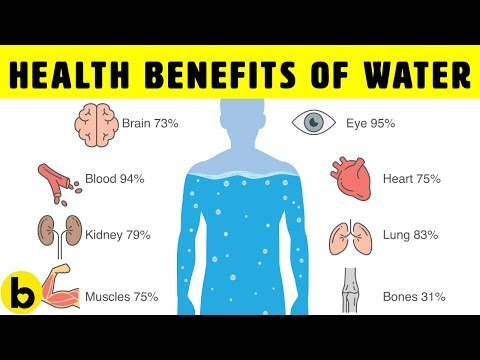 8 Health Benefits Of Drinking Water
