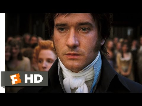 Pride & Prejudice (2/10) Movie CLIP - Miserable Mr. Darcy (2005) HD