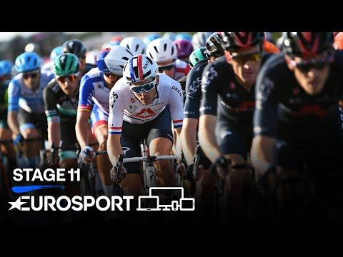 Giro d'Italia 2020 - Stage 11 Highlights   Cycling   Eurosport