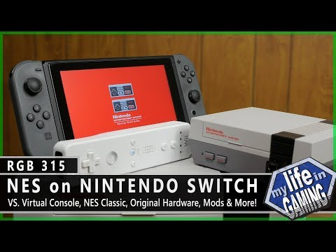 RGB315 :: NES on Nintendo Switch VS. Original Hardware, Virtual Console, & More / MY LIFE IN GAMING
