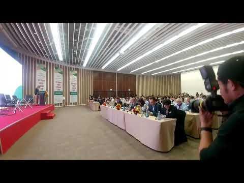 Thứ trưởng Hải phát biểu khai mạc hội thảo bên lề Vietnam FoodExpo 2018