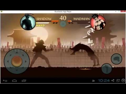 Nekki Shadow Fight 2 Gameplay: Shadow vs. Madman Tournament Walkthrough[HD]