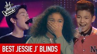 Video The Voice Kids | BEST 'JESSIE J' Blind Auditions MP3, 3GP, MP4, WEBM, AVI, FLV Mei 2018