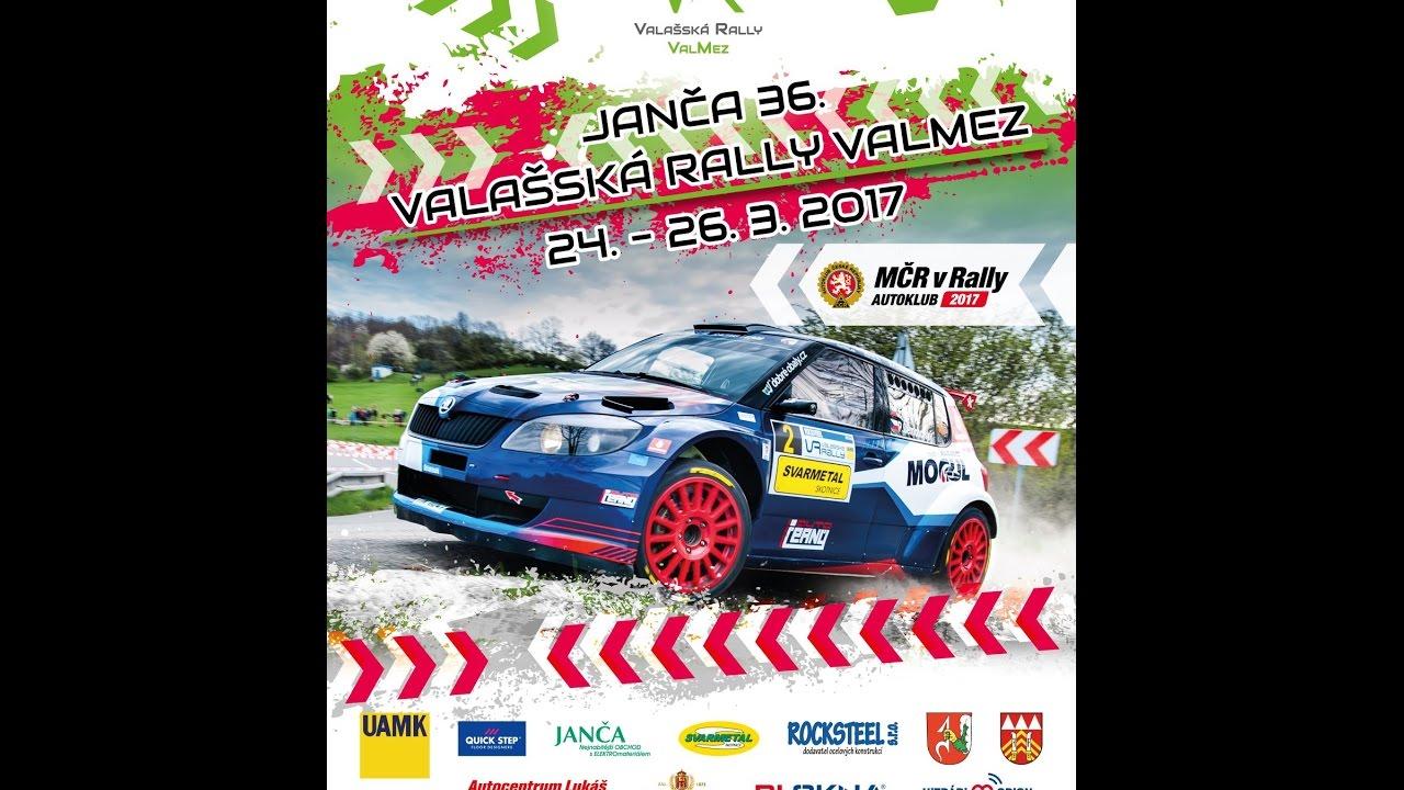 36. Valašská rally – LIVE – neděle 26. 3. 2017