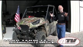7. ATV Television - 2015 Kawasaki Teryx 2 EPS Long-Term Test