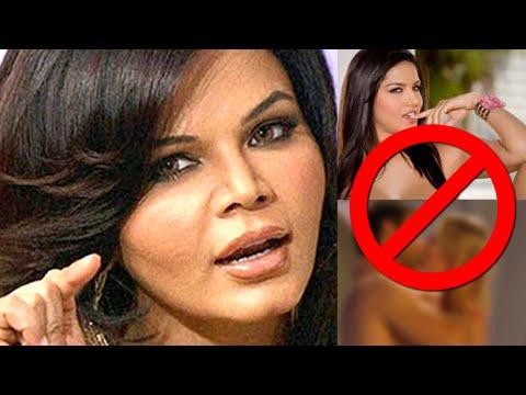 OMG! Rakhi Sawant Wants Sunny Leone To Be Banned W