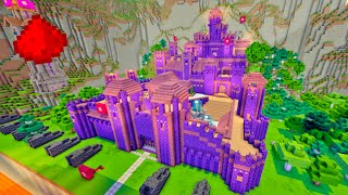 THE SAFEST CASTLE IN MINECRAFT!!! - (Minigame w/ 100+ Redstone Creations/Command Blocks)