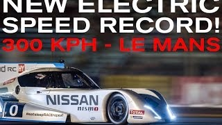 Nissan ZEOD RC At Le Mans: Over 300km/h And No Mirrors