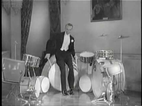 Fred Astaire drums skit (1937)