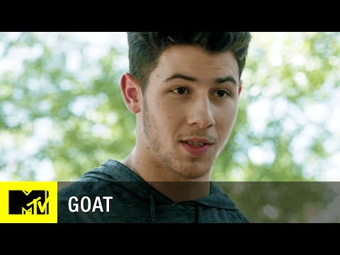 Nick Jonas is a total bro in the Goat trailer