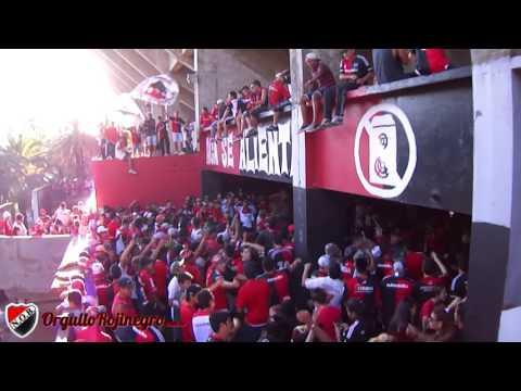 Previa de la hinchada. Newell's 1 - 1 Unión. OrgulloRojinegro.com.ar - La Hinchada Más Popular - Newell's Old Boys
