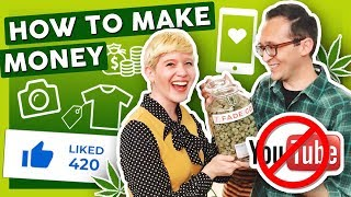 7 Ways to Make Money with Weed Content by That High Couple
