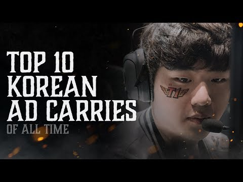 Top 10: Korean AD Carries of All Time