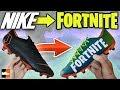 How To Make Fortnite Battle Royale Boots! 🎮 Custom Nike Cleats