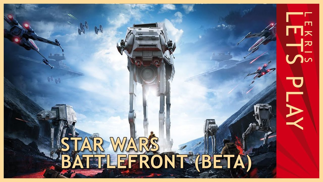 Let's Play Star Wars: Battlefront (Beta)