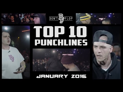 DON'T FLOP: TOP 10 PUNCHLINES | JANUARY 2016 @DontFlop