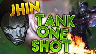 Xem Jhin dồn dame chết tướng siêu tank Shen trong một combo cực khủng